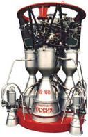 Пять там двигателей.  Четыре РД-107 и один РД-108.
